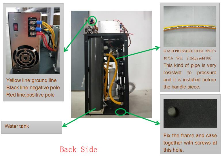 assemble diode laser hair removal machine