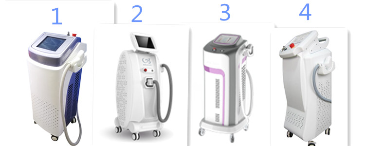 laser hair removal machine frame