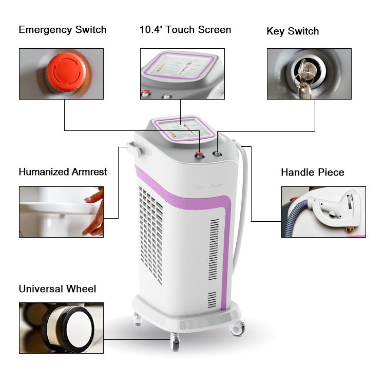 810nm laser hair removal beauty equipment